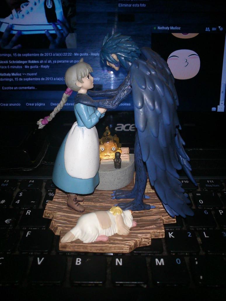 Howl No Ugoku Shiro Figure By AlexeiRobles On DeviantArt