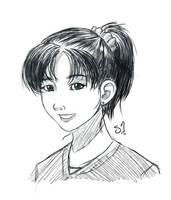 Miki Saegusa by StarshineBeast