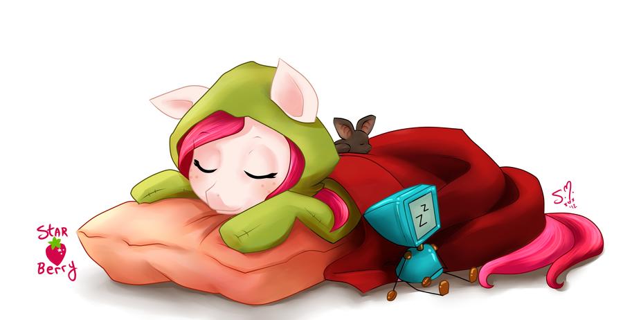 Sleeping the day away by StarshineBeast