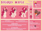 Sugared Maple Character Sheet (commission)