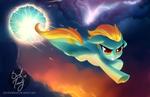 Lightning Dust (commission)