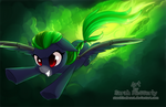 Green Means Go (commission) by StarshineBeast