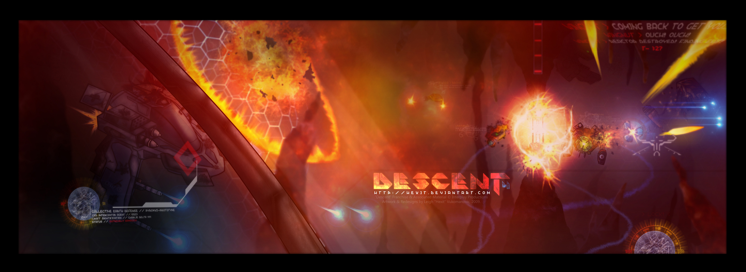 Descent 4 v1 by Hexit