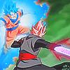 Black vs Goku by Digone