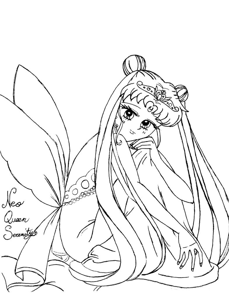 queen serenity coloring pages | Neo Queen Serenity by usagi-wrath-elric on DeviantArt