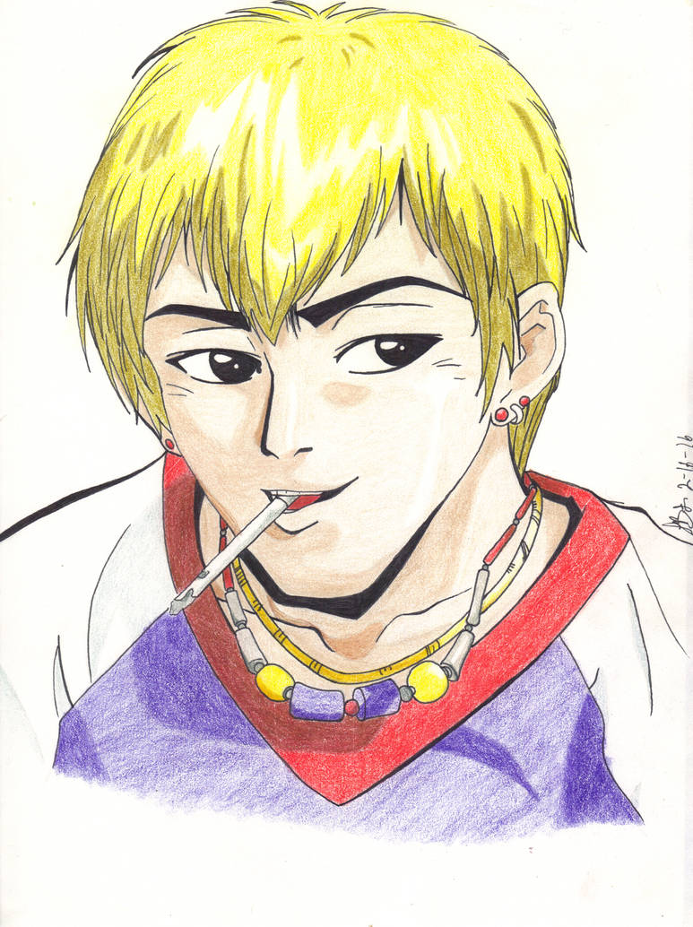 Gto great teacher onizuka by usagi wrath elric