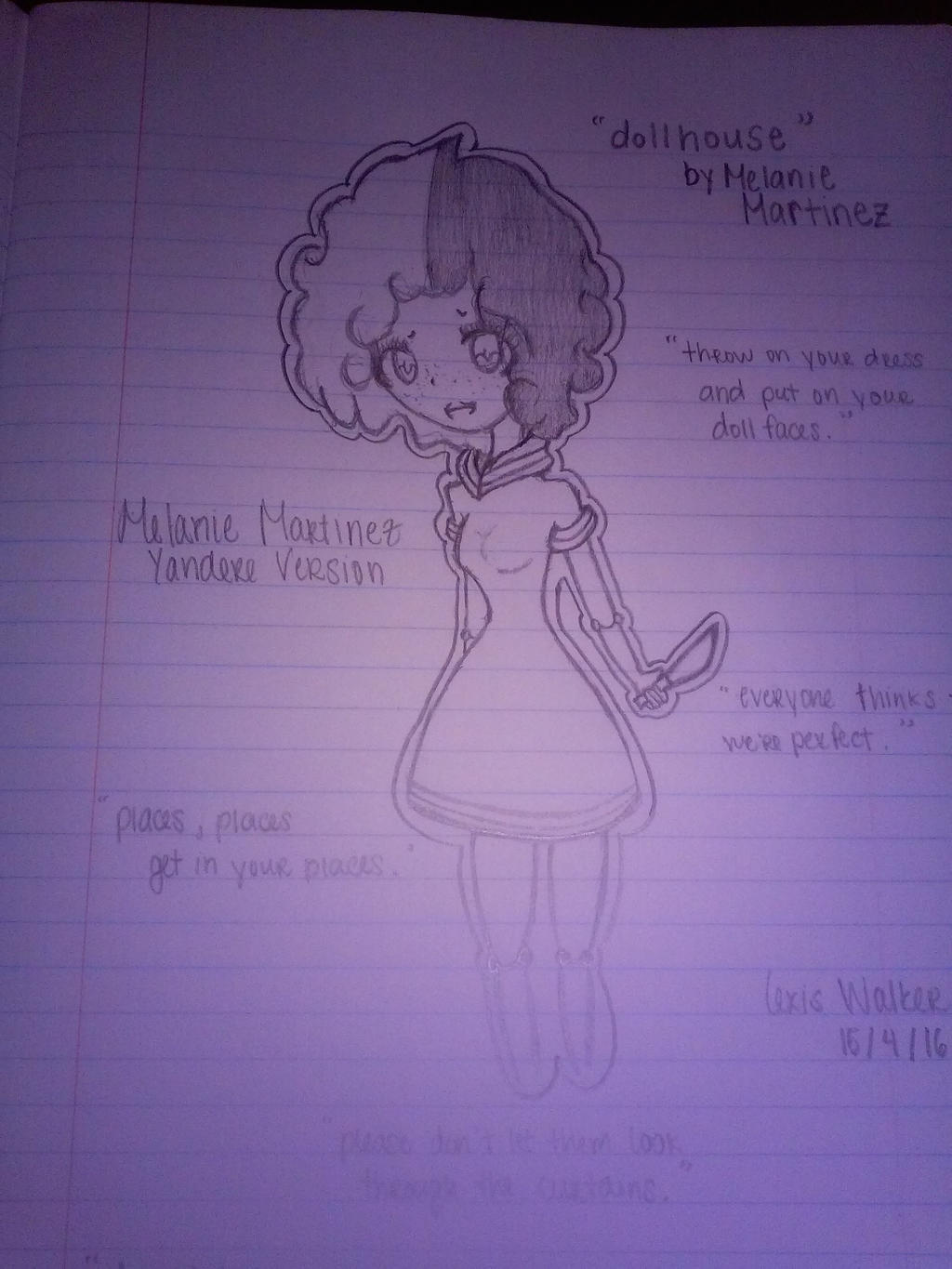 Hiddengatekepper Melanie Martinez Yandere Ver By Hiddengatekepper
