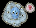 Commission - Estellan, the star Warden Fakemon