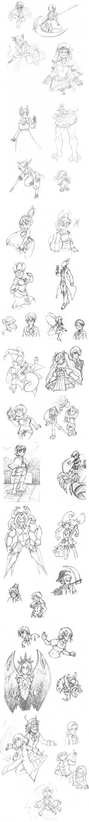 DreamCatcher Sketch Batches