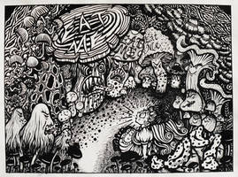 'Go Ask Alice about Mycophobia' by LindseyAyres