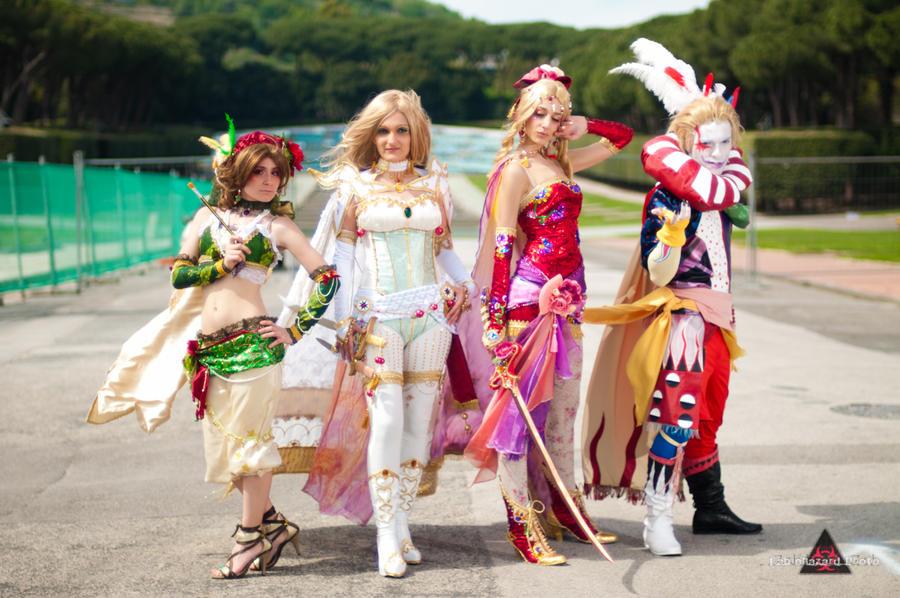 Final Fantasy 6 by Sakizou by xxLaylaxx