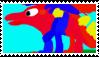 ( FTU ) RainbowDragons123 Stamp by NICKTHEBUNNY