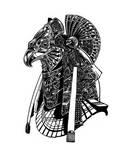 Ra warrior head