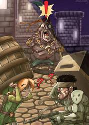 Link ''!'' Snake by Zwickysten