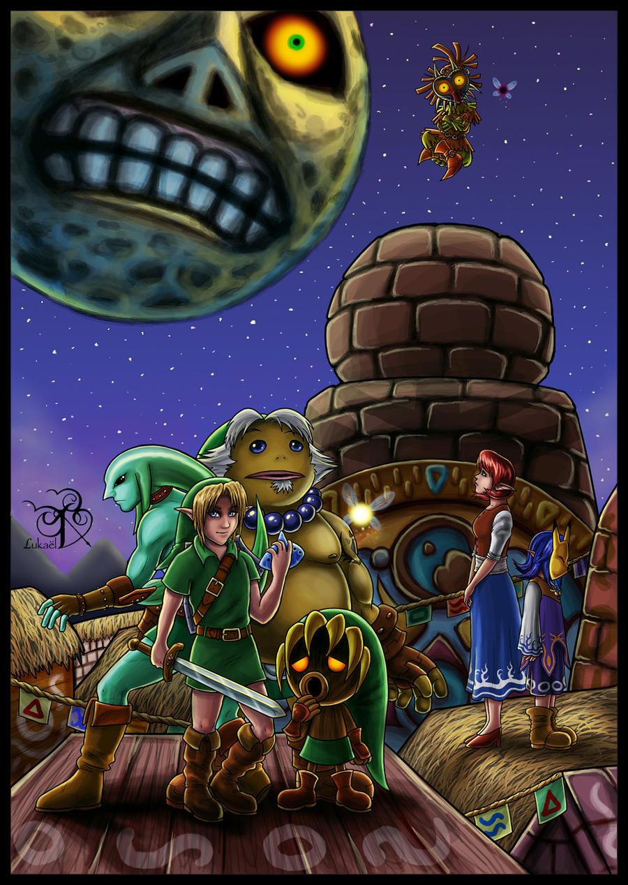 Zelda MM: + The Final Hour + by Lukael-Art