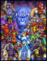 Megaman X Tribute by Lukael-Art