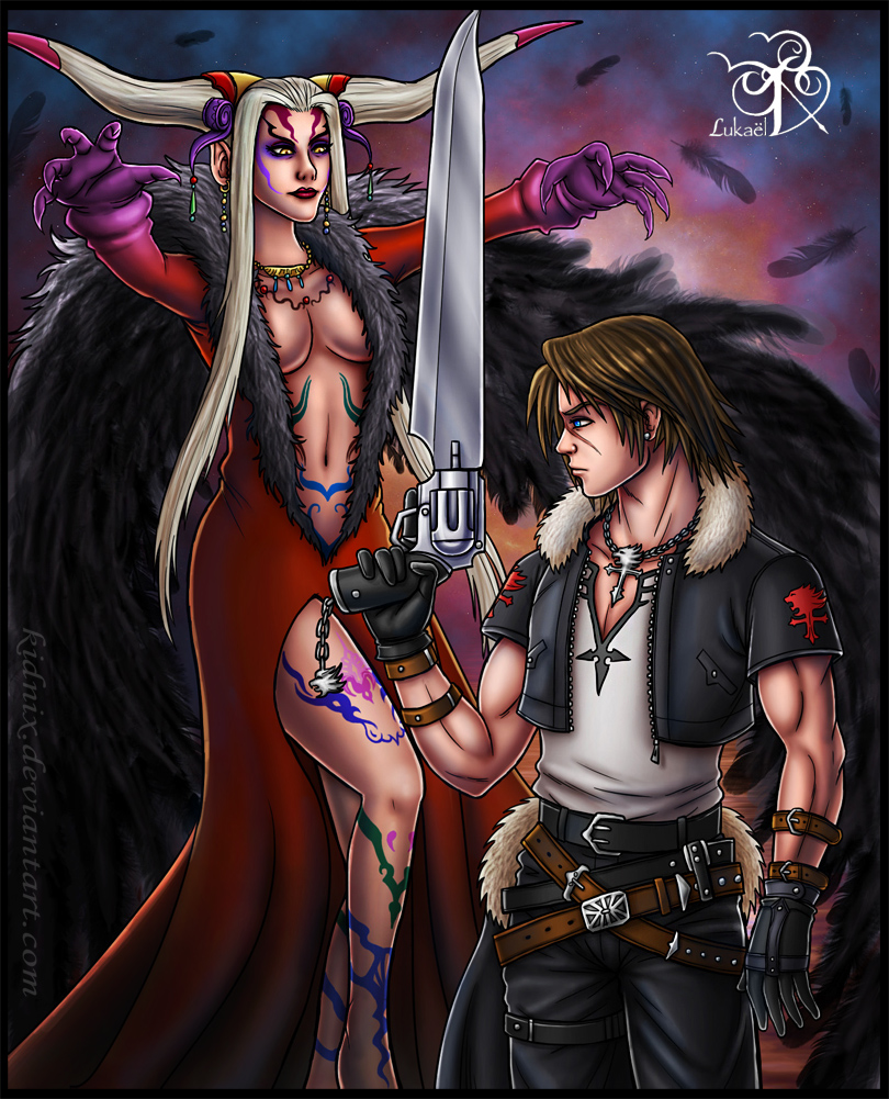 FFVIII: Find Your Way by Lukael-Art