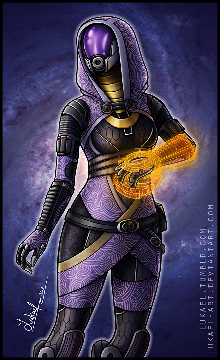 Mass Effect: Tali'Zorah nar Rayya by Lukael-Art