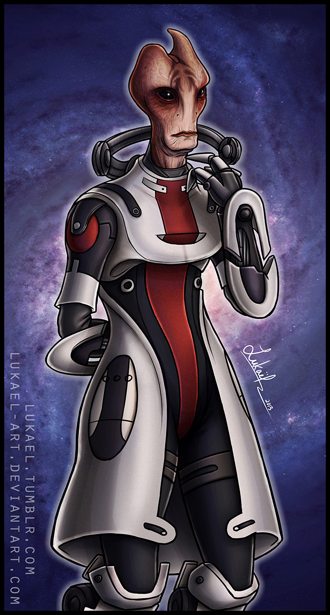 Mass Effect: Mordin Solus by Lukael-Art