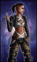 Mass Effect: Jack by Lukael-Art