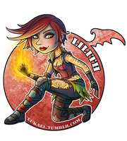 Borderlands: Lilith by Lukael-Art