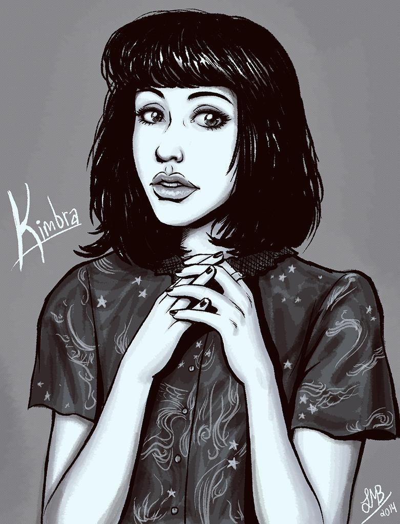 Kimbra by Lukael-Art