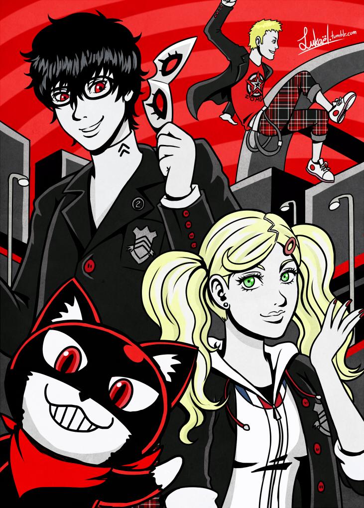 Persona 5 by Lukael-Art