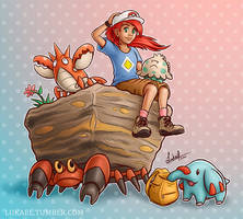 Pokemon Trainer - Gulaghar (Commission) by Lukael-Art