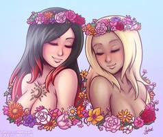 Gravity Rush: Floral Girlfriends