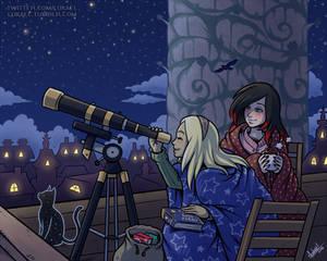 Gravity Rush: Stargazing girlfriends