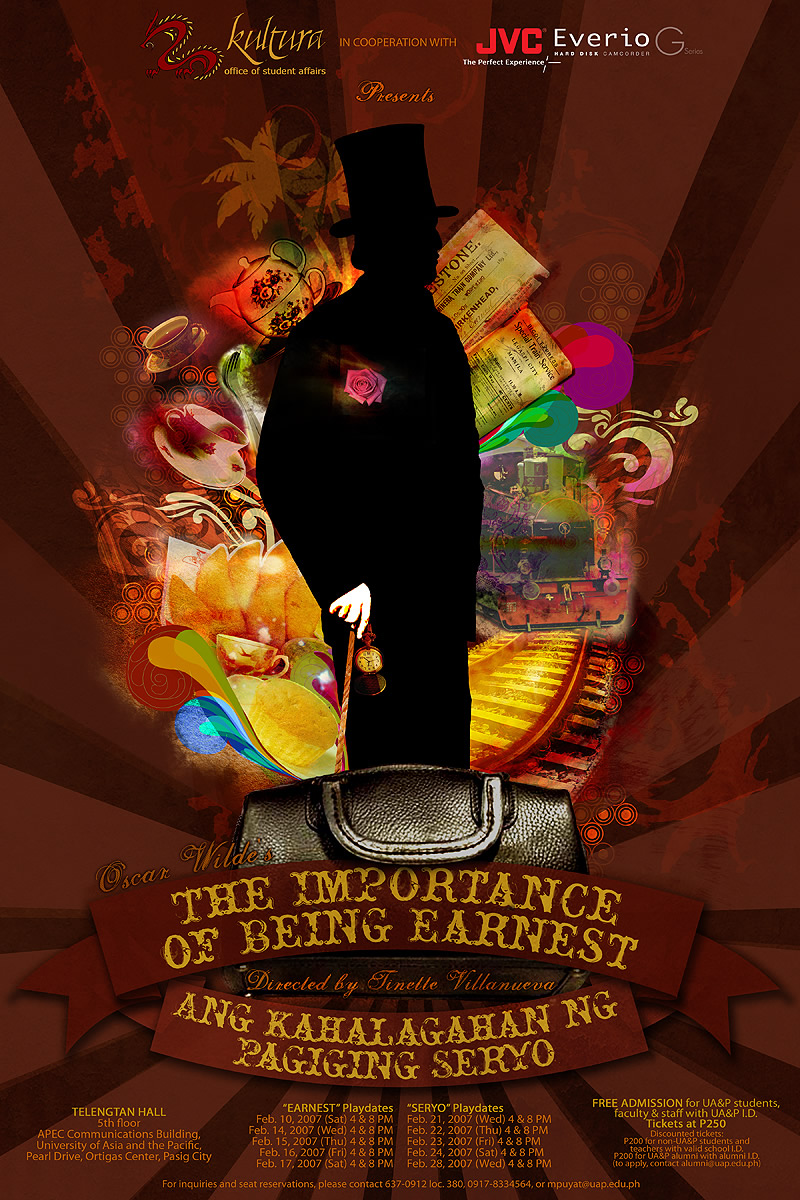 Earnest - Seryo Play Poster by green-tea