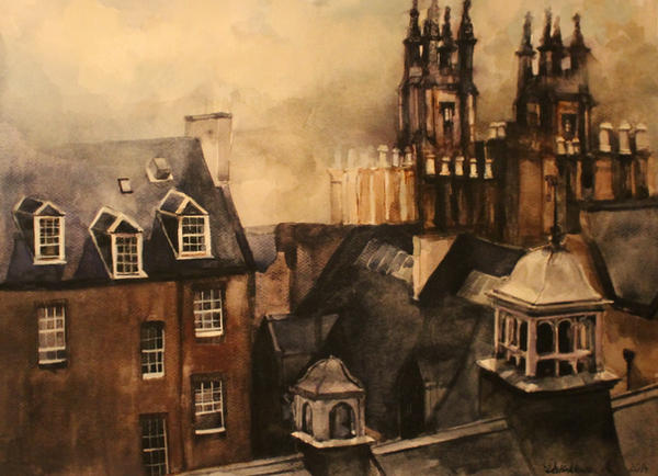 Edinburgh by monikadalinkiewicz