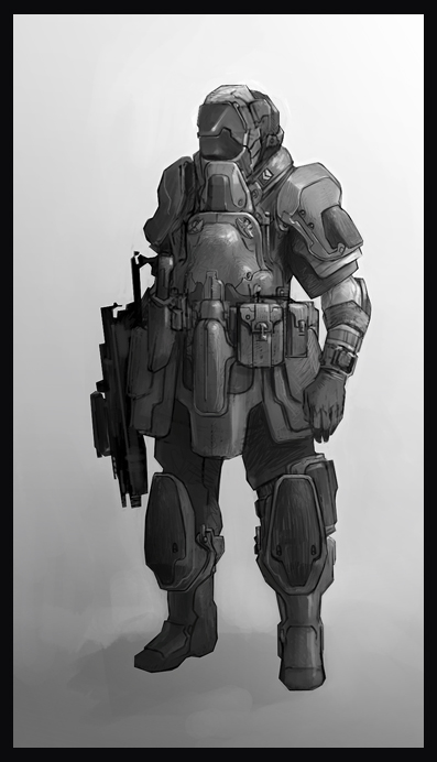 soldier by stottt