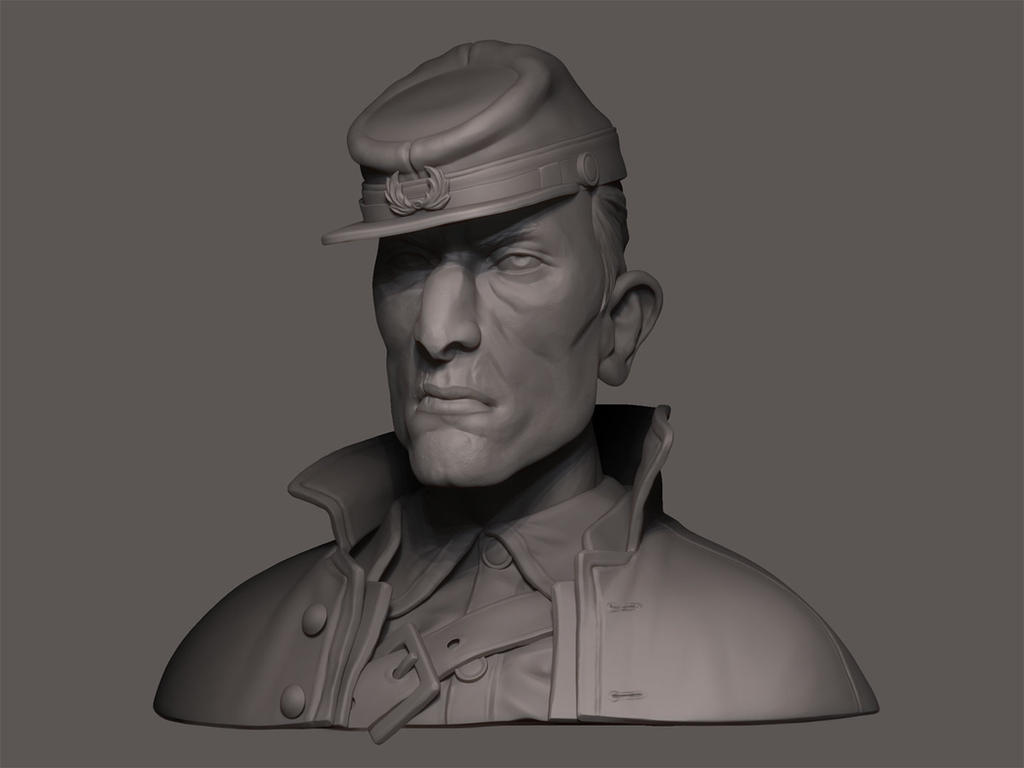 Civil War vet by stottt