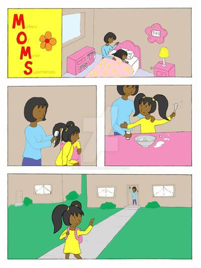 M.O.M.S Comic Page 1