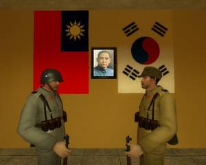 ROC, And KLA soldier