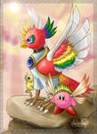 Dynablade and Wing Kirby