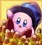 Candy Corn Kirby