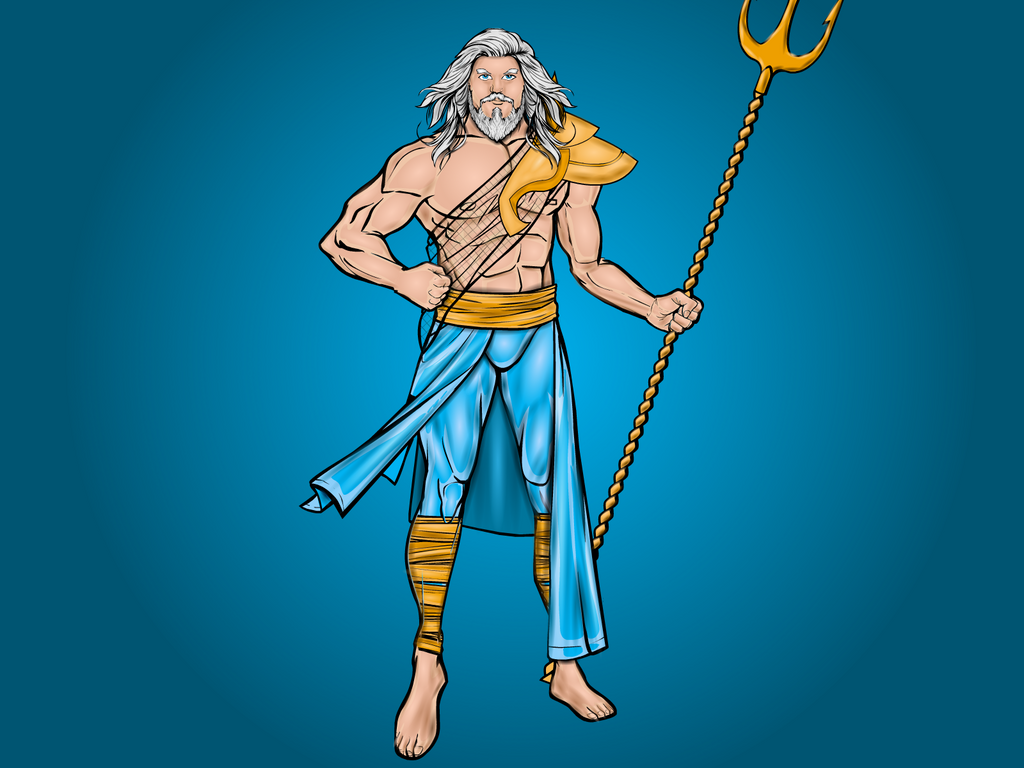 Poseidon - Greek god of the Seas and Oceans