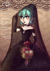 Hatsune Miku - Black Vow by Leygesp