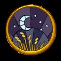 Lunar Badge by MeganEliMoon