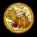 Harvest Badge by MeganEliMoon