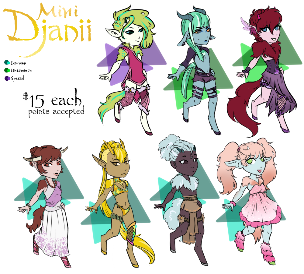 March Djanii Minis [OPEN]