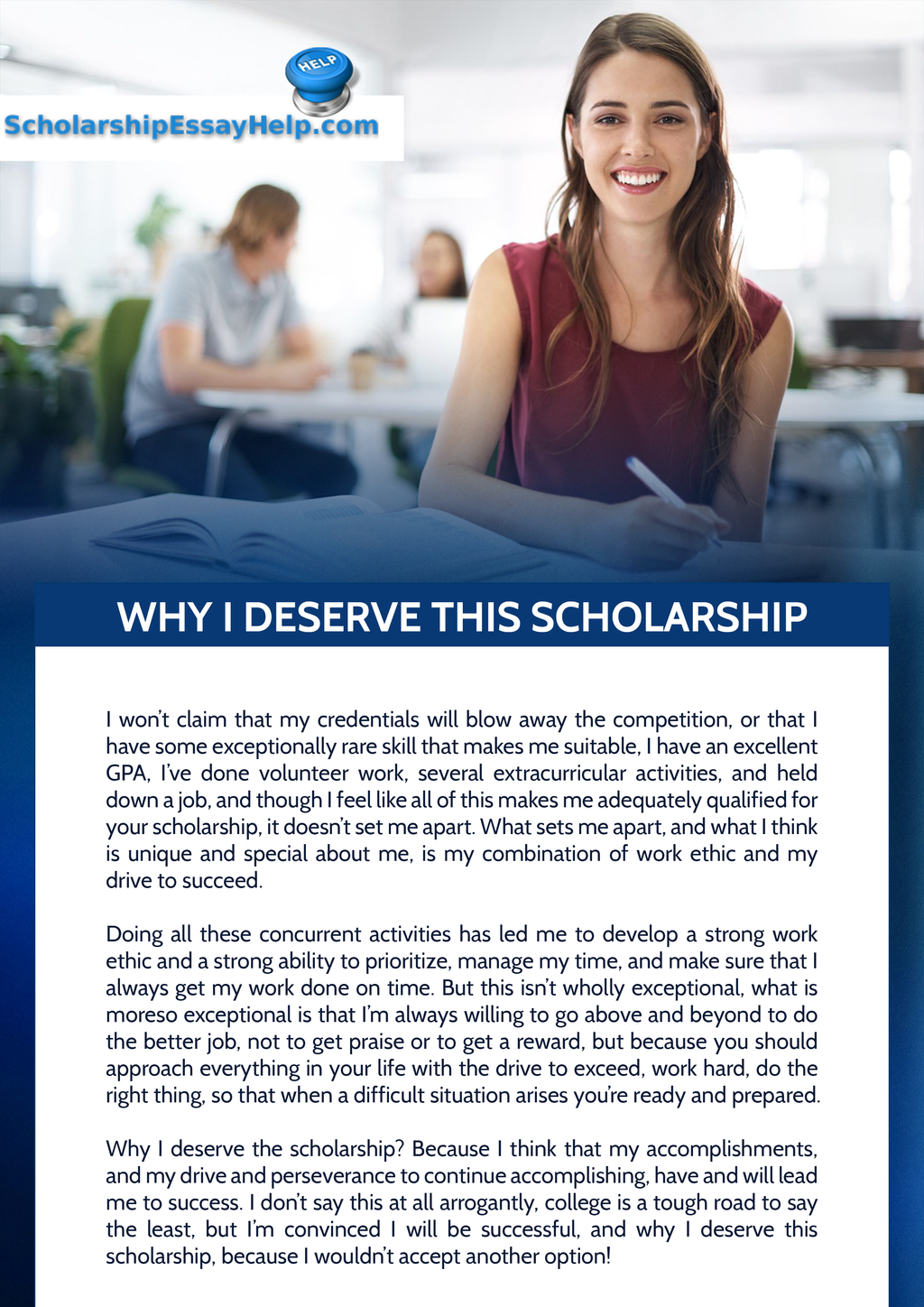 why i deserve this scholarship essay sample by scholarship essay why i deserve this scholarship essay sample by scholarship essay