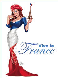 Vive la France by Elias-Chatzoudis