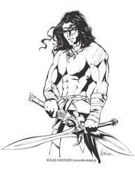 Conan Ink by Elias-Chatzoudis