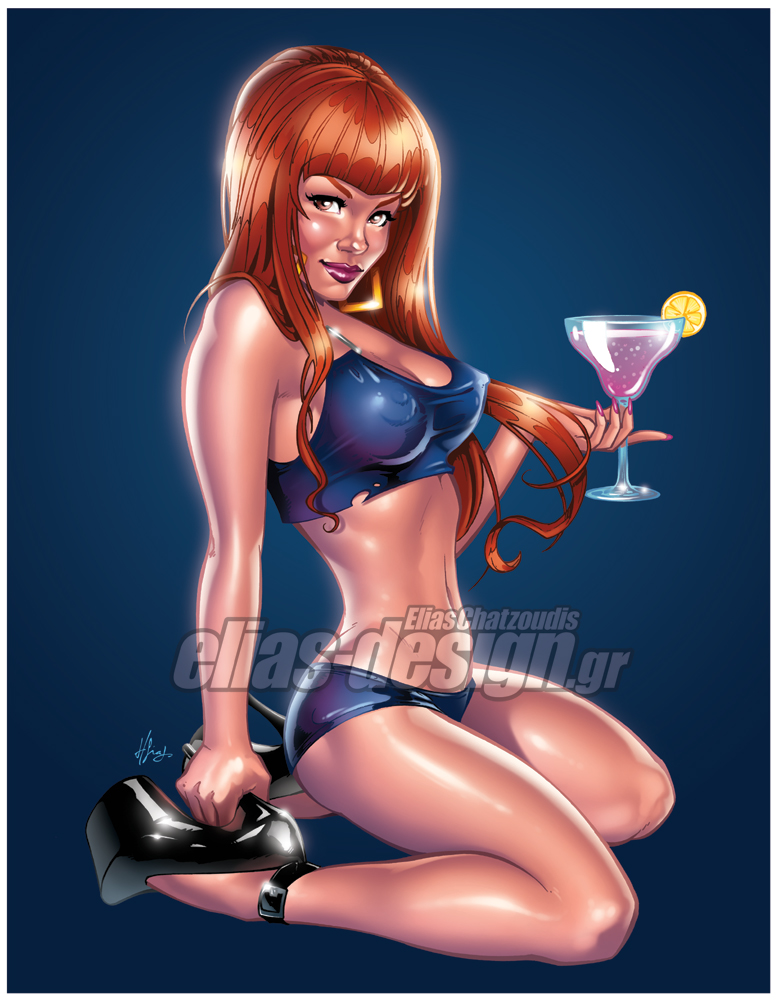 Pinup Margarita by Elias-Chatzoudis