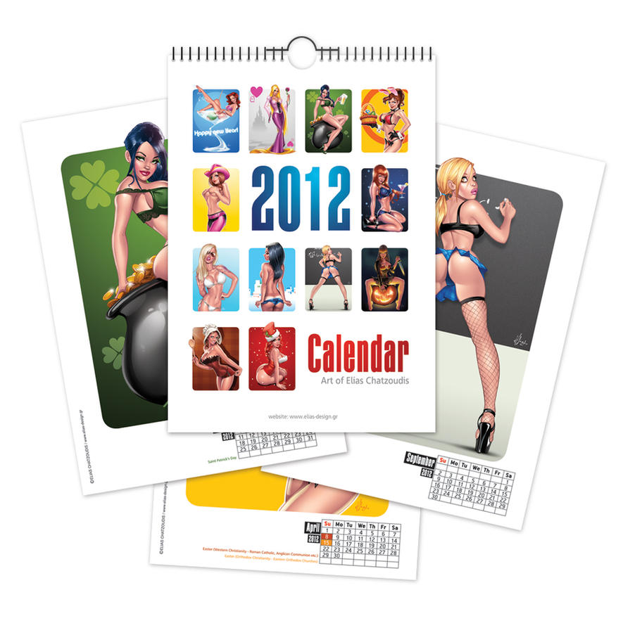 Calendar 2012 by Elias-Chatzoudis