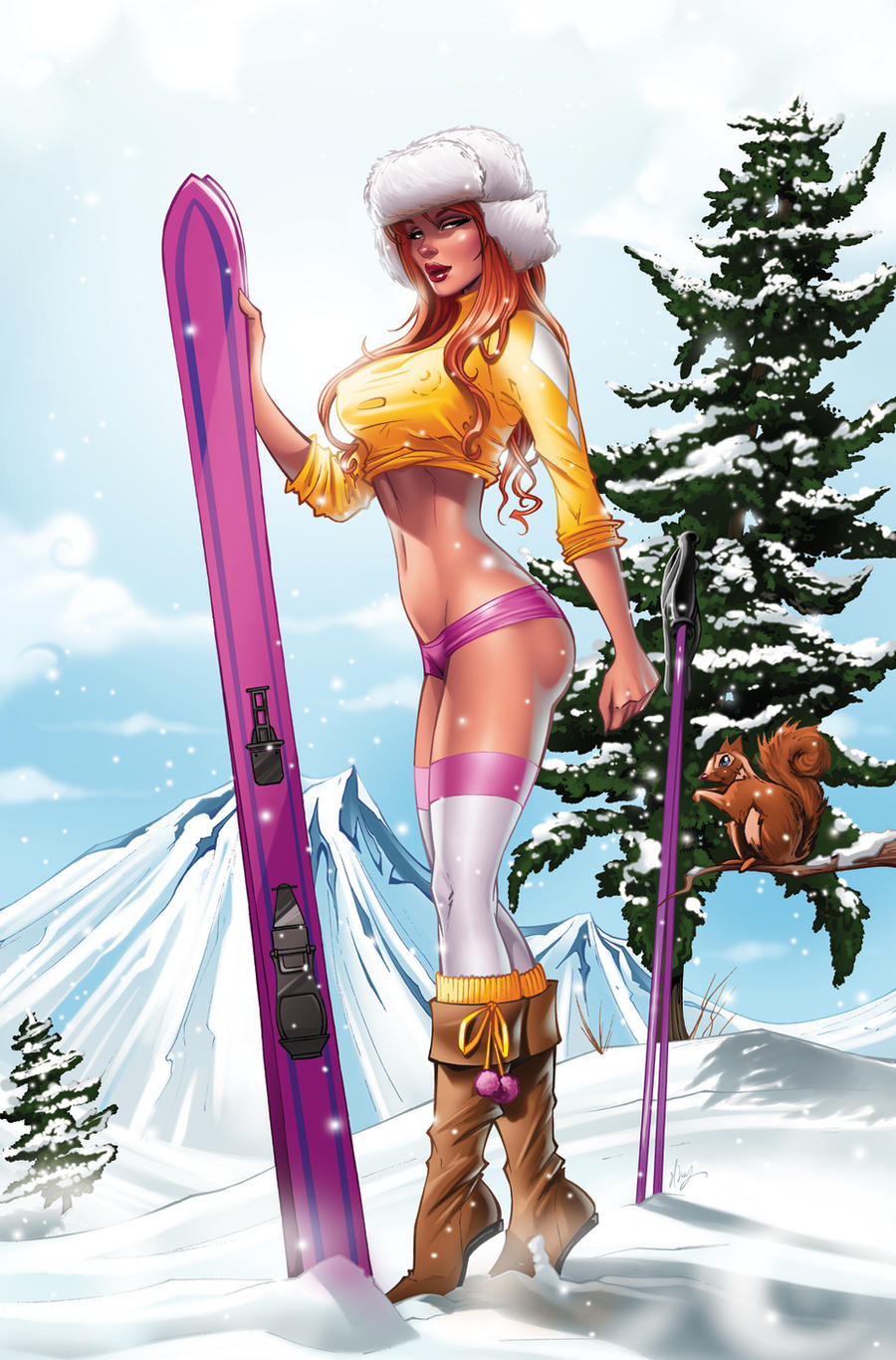 BELINDA SKI GIRL VARIAN by Elias-Chatzoudis