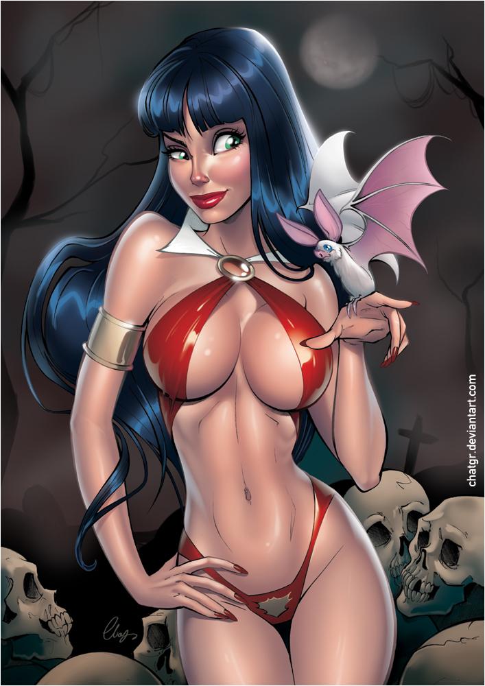 Vampirella by Elias-Chatzoudis